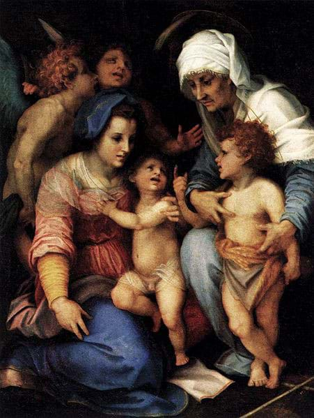 The Holy Family, Andrea del Sarto (1514)