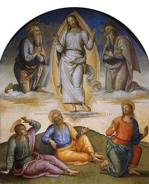 Transfiguration of Christ on Mt. Tabor