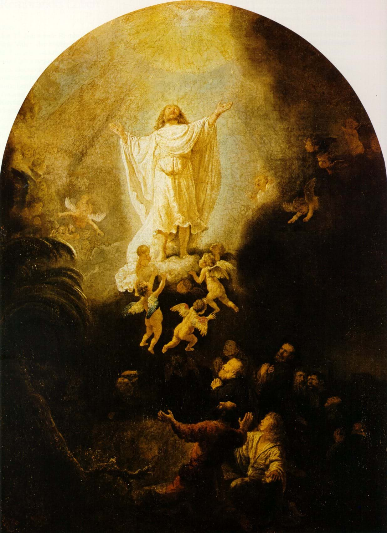 Ascension, by Rembrandt, 1636