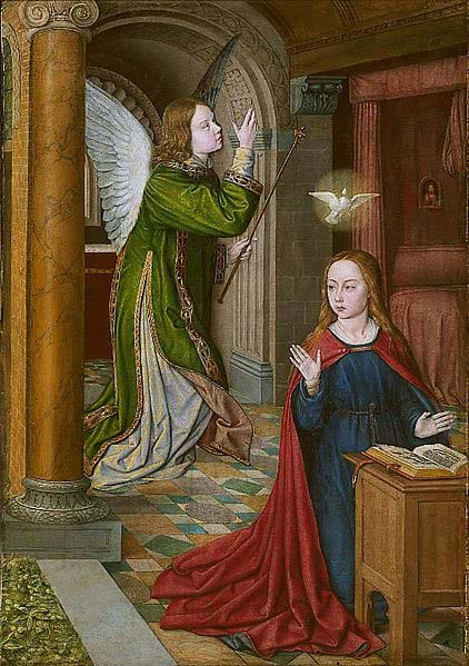 The Annunciation by Jean Hay