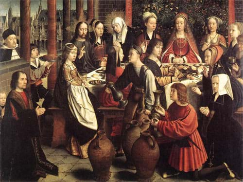 The Marriage at Cana by Gérard David