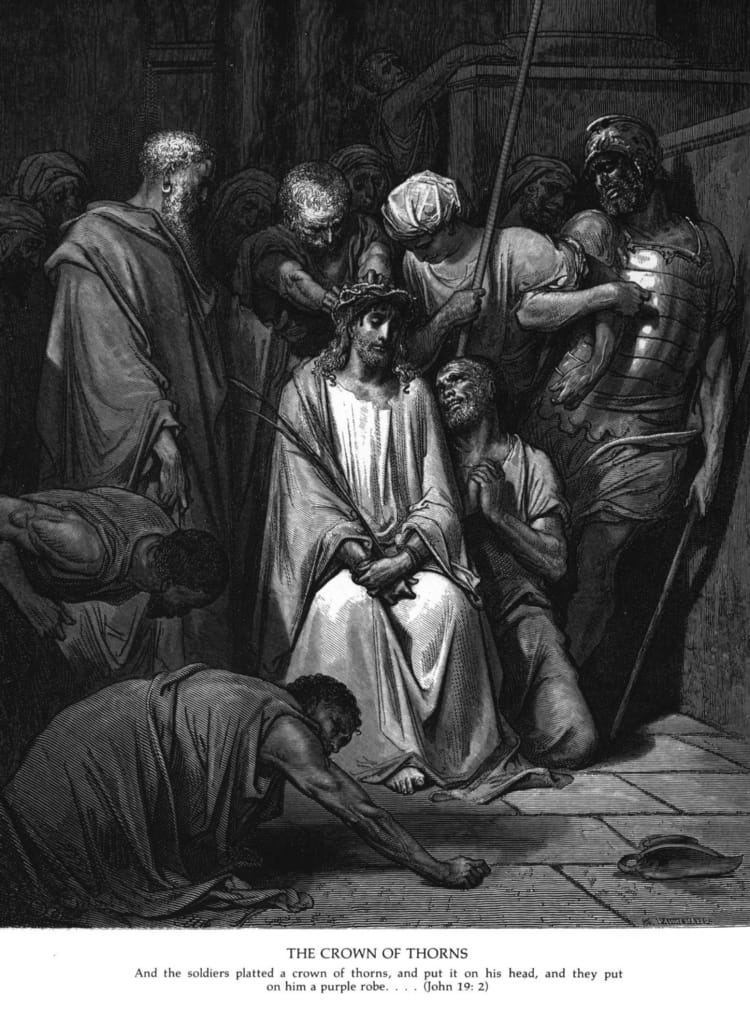 Christ Crowned with Thorns by Gustav Dore