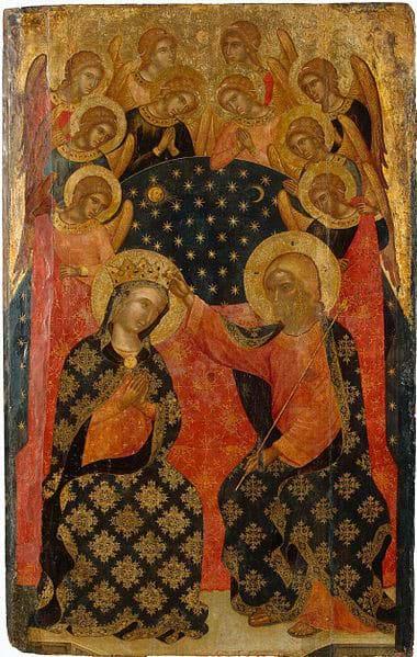 Coronation of Mary by Catarino