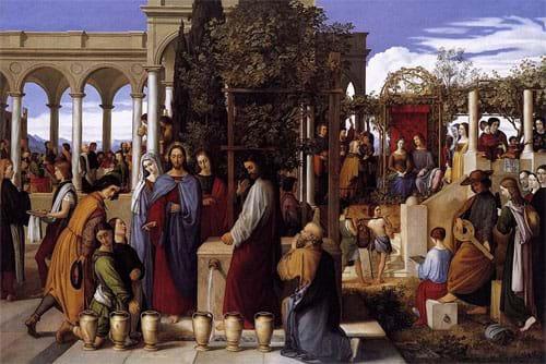The Wedding Feast at Cana by Julius Schnorr von Carolsfeld