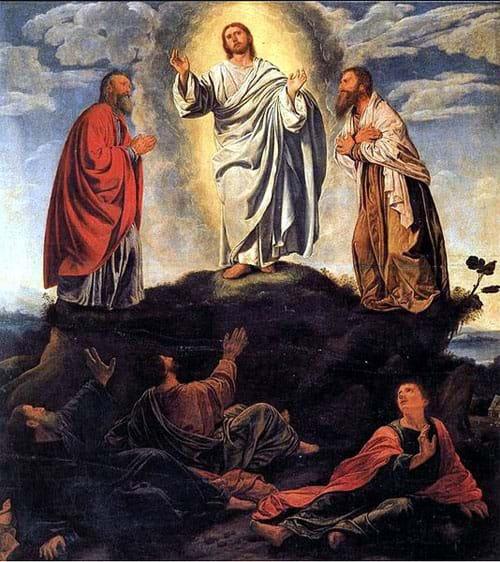 The Transfiguration by Giovanni Girolamo Savoldo