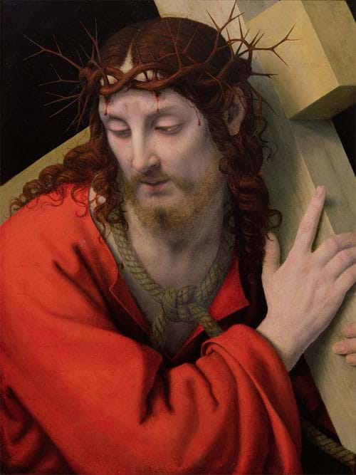 Christ Carrying The Cross 2 by Andrea Solario