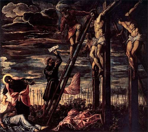 The Crucifixion of Christ by Tintoretto