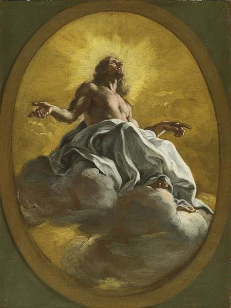 Christ in Glory by Giovanni Battista Gaulli