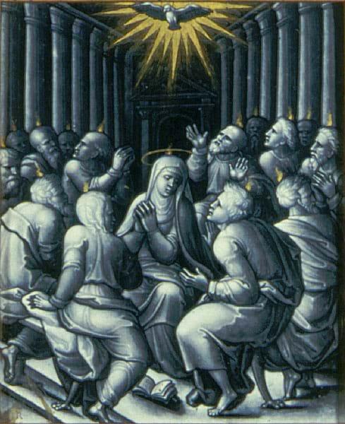 Pentecost by Pierre Reymond