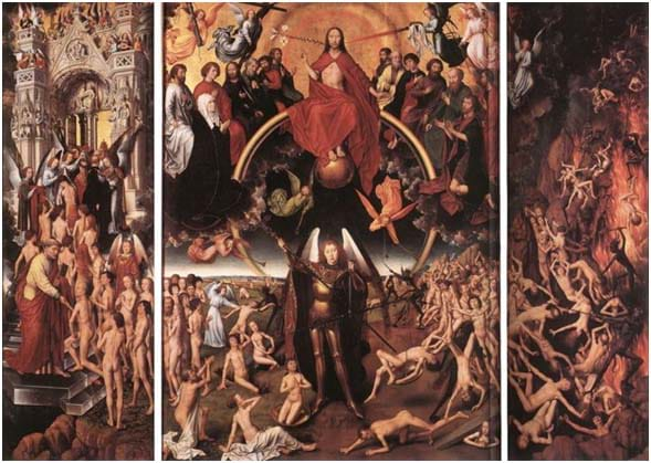 Memling's Day of Judgement, 1467 - 1471