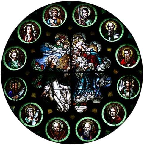 Image of St. Dominic & the 12 Apostles1