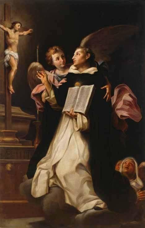 Statue of Saint Thomas Aquinas, The Pontifical University of St. Thomas Aquinas