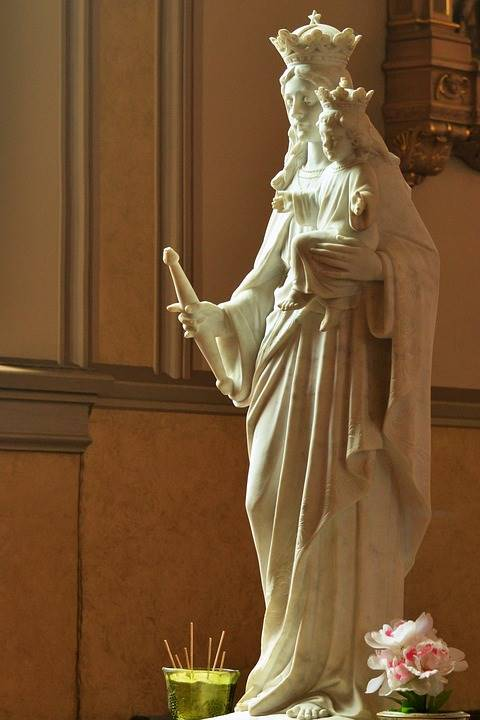 Our Lady, Queen of Peace (Regina Pacis means Queen of Peace in Latin)
