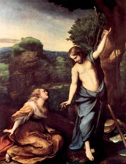 Noli me Tangere by Antonio Allegri da Correggio (16th century)